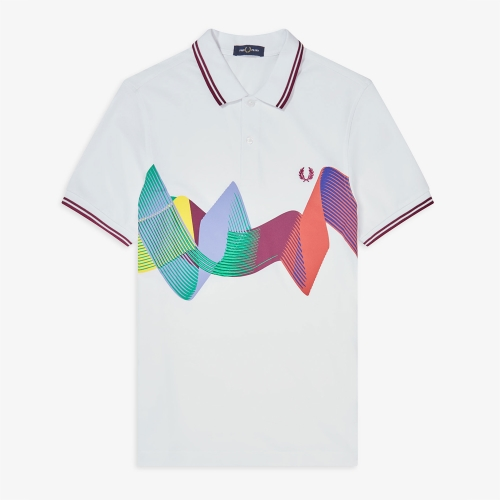 [Authentic] Abstract Sport Polo Shirt(100)