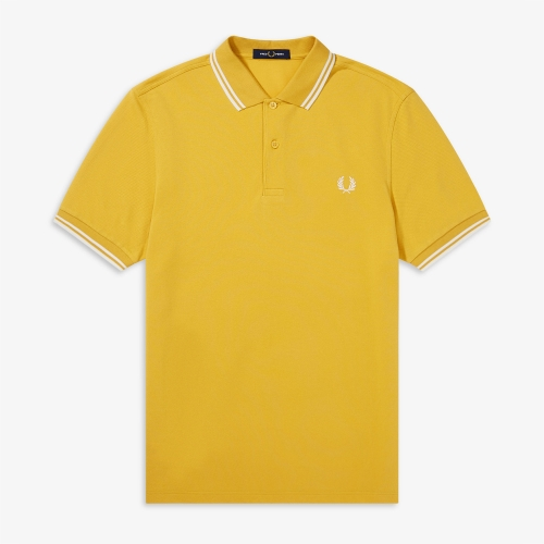 [M3600] Twin Tipped Fred Perry Shirt(K91)