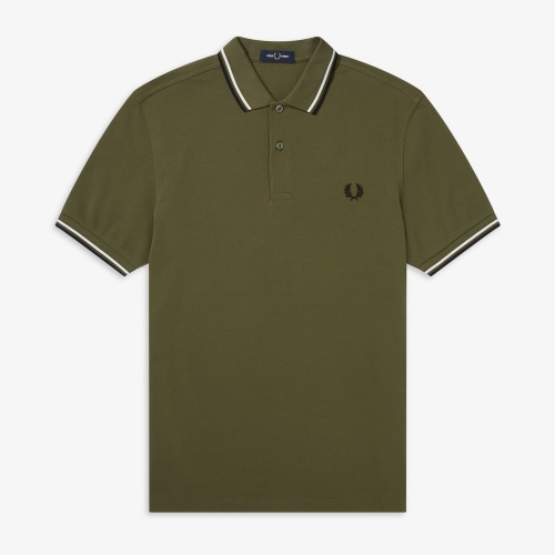 [M3600] Twin Tipped Fred Perry Shirt(K93)
