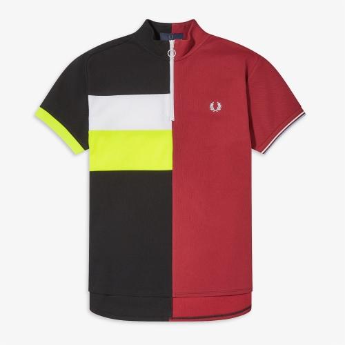 [Narifuri] Split Polo Shirt (944)