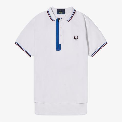 [Narifuri] Placket Polo Shirt (100)
