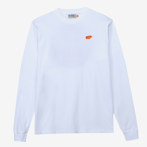 Air Cushion Long Sleeve T-Shirt (WHT)