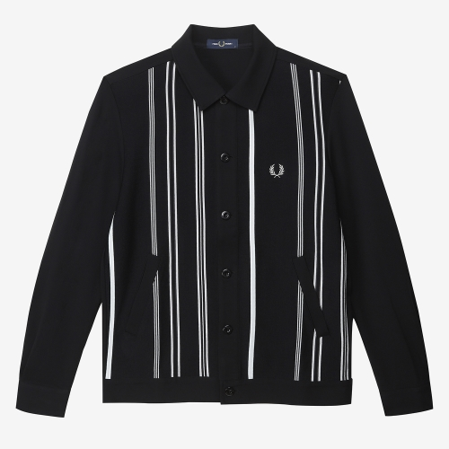 Striped Shirt Cardigan(J07)