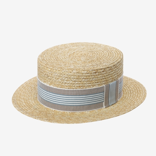 Emile Paper Straw Hat (BLU)