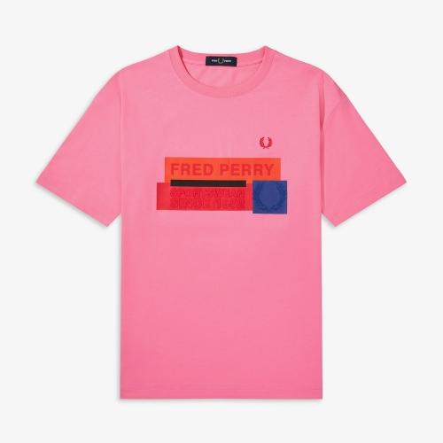 [Authentic] Graphic Print T-Shirt(D14)