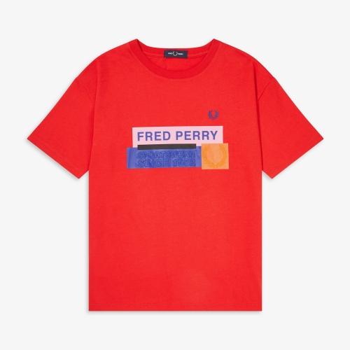 [Authentic] Graphic Print T-Shirt(L06)