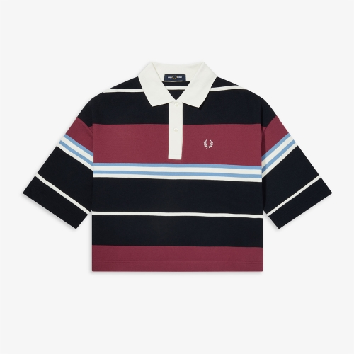 [Authentic] Striped Pique Shirt(129)
