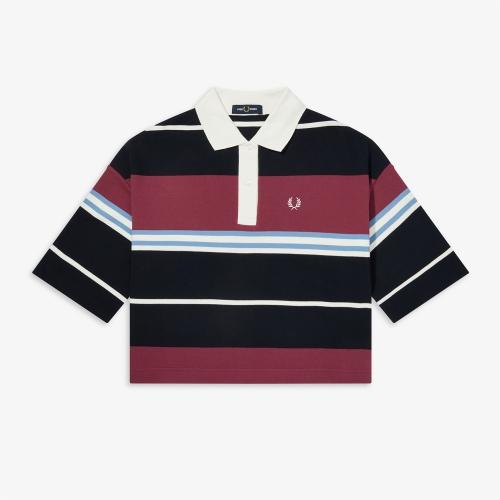[Authentic] Striped Pique Shirt(129)