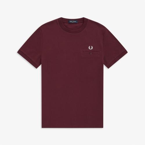 [Authentic] Pocket Detail Pique Shirt (799)