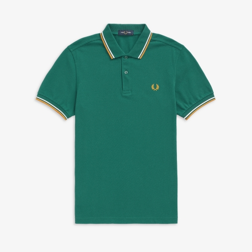 [M3600] Twin Tipped Fred Perry Shirt (L27)