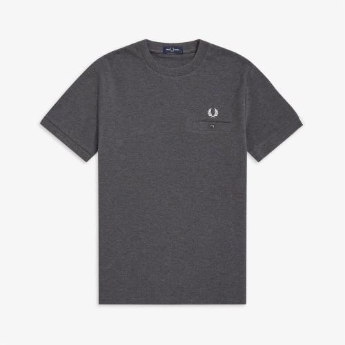 [Authentic] Pocket Detail Pique Shirt (829)