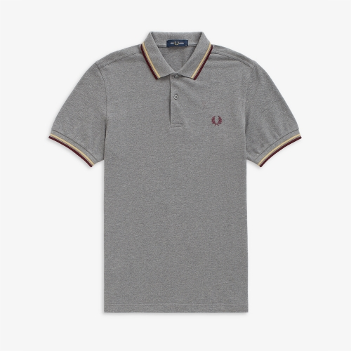[M3600] Twin Tipped Fred Perry Shirt (961)