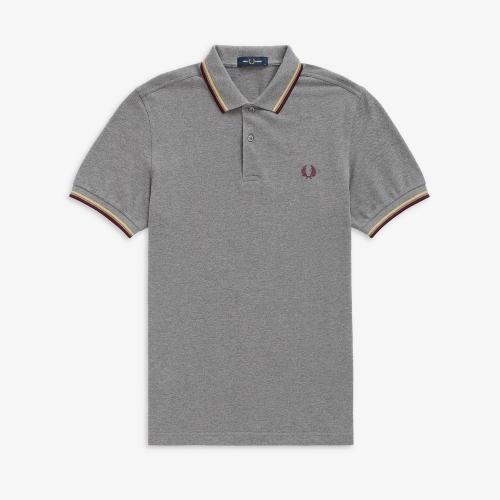[M3600] 트윈 팁 프레드 페리 셔츠 (961)