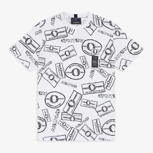 [Art Comes First] Printed Pique T-Shirt (100)