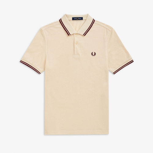 [Authentic] Twin Tipped Fred Perry Shirt (L42)