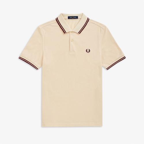 [M3600] 트윈 팁 프레드 페리 셔츠 (L42)