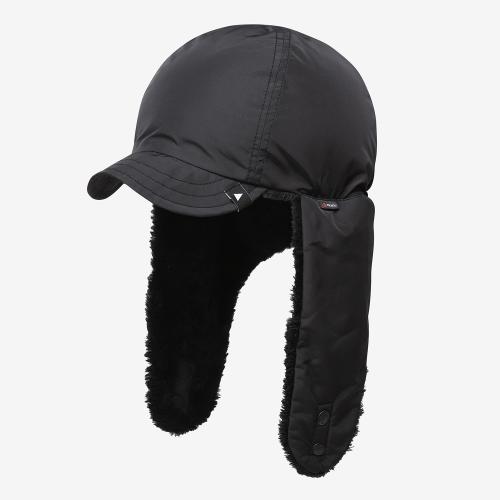 High Loft Fleece Ear Cap (BLK)