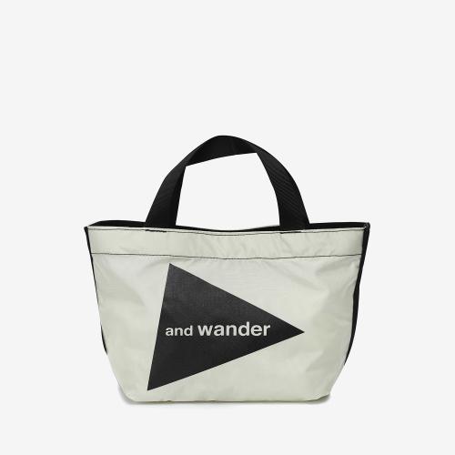 Cordura Logo Tote Bag Small (WHT)
