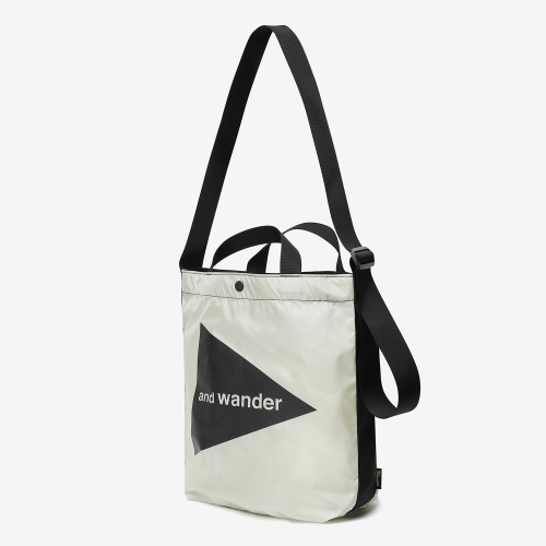 Cordura Logo Tote Bag Medium (WHT)