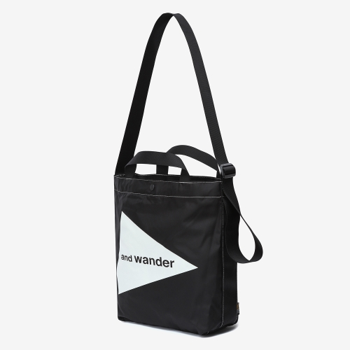 Cordura Logo Tote Bag Medium (BLK)