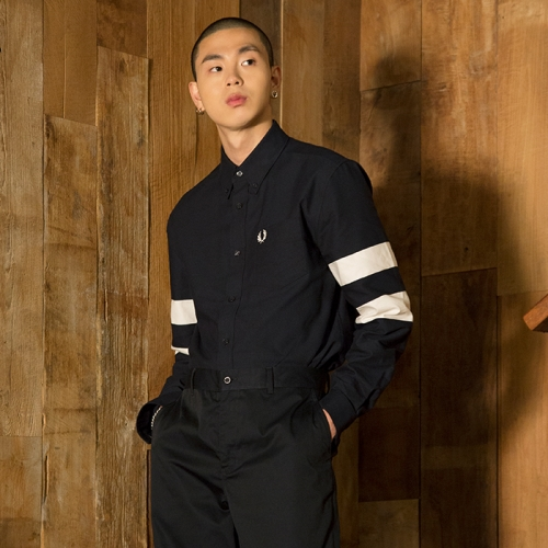 [Authentic] Twin Tipped Long Sleeve Shirt (608)