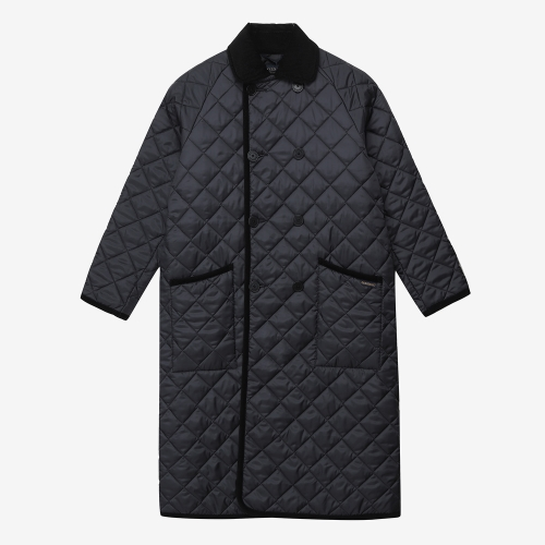 Lavenster Double Breasted Coat (BLK)