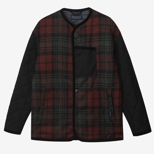 Tartan Short Jacket Ladies (RED)