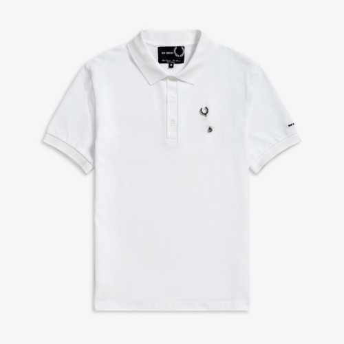 [Raf Simons] Laurel Wreath Pin Polo (100)