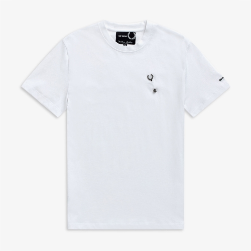 [Raf Simons] Laurel Wreath Pin T-Shirt (100)