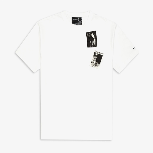 [Raf Simons] Printed Patch T-Shirt (100)