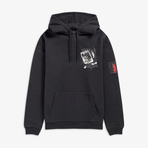 [Raf Simons] Pin Printed Patch Hoody (102)