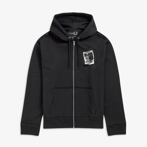 [Raf Simons] Patched Zip Through Hoody (102)