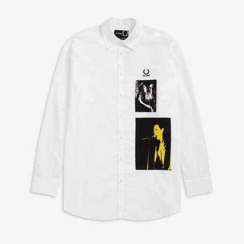 [Raf Simons] Patched Oversized Shirt (100)
