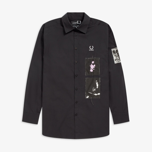 [Raf Simons] Patched Oversized Shirt (102)