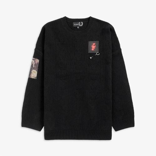 [Raf Simons] Oversized Patch Knit (102)
