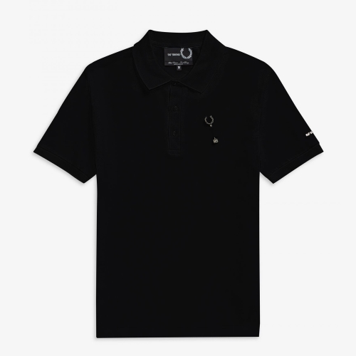 [Raf Simons] Laurel Wreath Pin Polo (102)