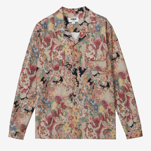 Floral Feathers Shirt (MUL)