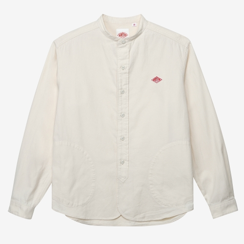 Band Collar Shirts Cotton (ECR)
