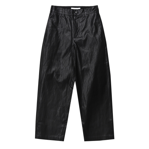 Eco Leather Pants (BLK)