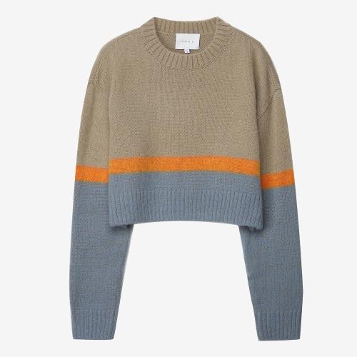 SunsetGradationSweater (GRY)