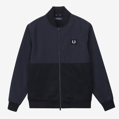 [Sports Authentic] Woven Panel Bomber Jacket (608)