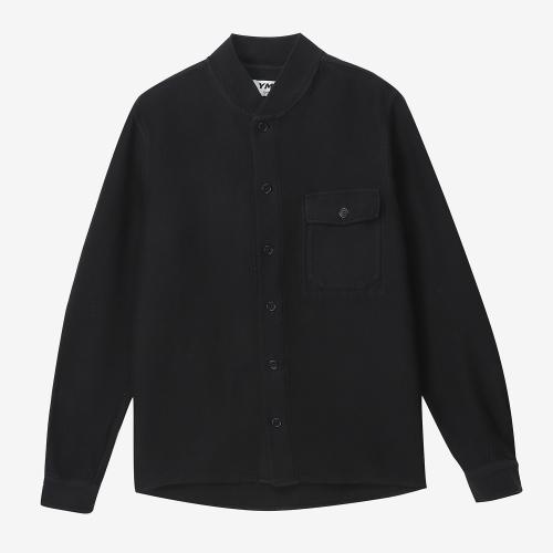 Delinquents Rib Collar Shirt (BLK)