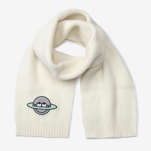 Planet Cool Scarf (WHT)