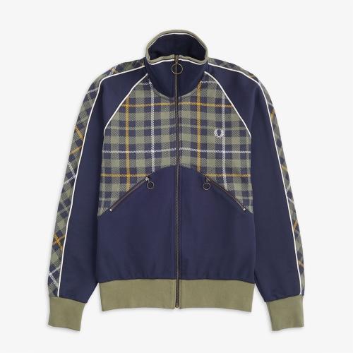 [Nicholas Daley] Tartan Track Jacket (F36)
