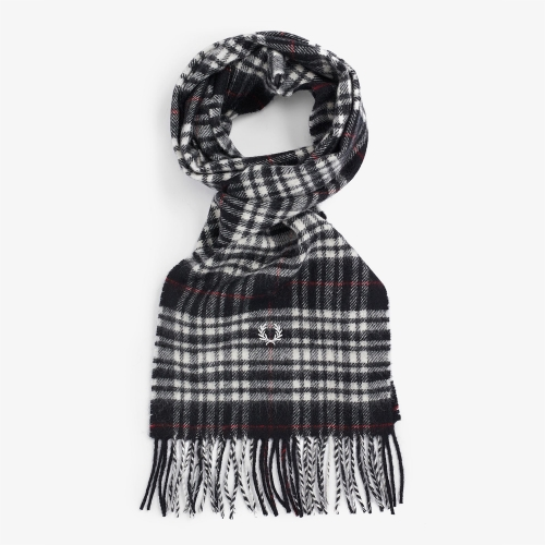 [Authentic] Menzies Tartan Scarf (843)