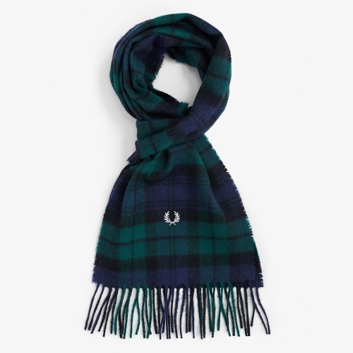[Authentic] Black Watch Tartan Scarf (426)