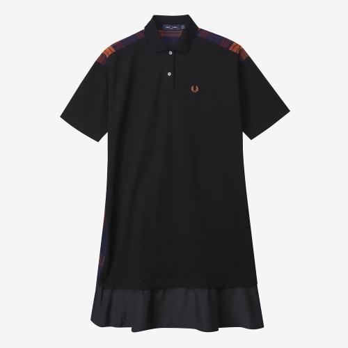믹스 패널 피케 드레스 (J07)