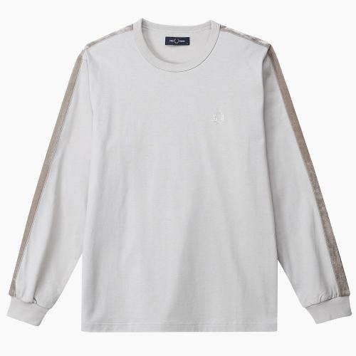 벨루아 테잎 L/S 링어 티셔츠 (J30)