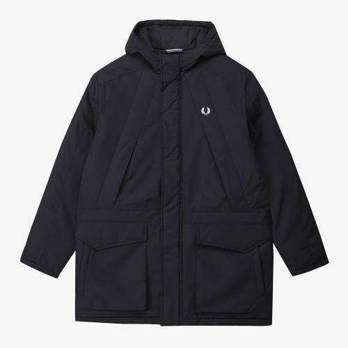 [Authentic] Padded Zip Through Jacket (102)