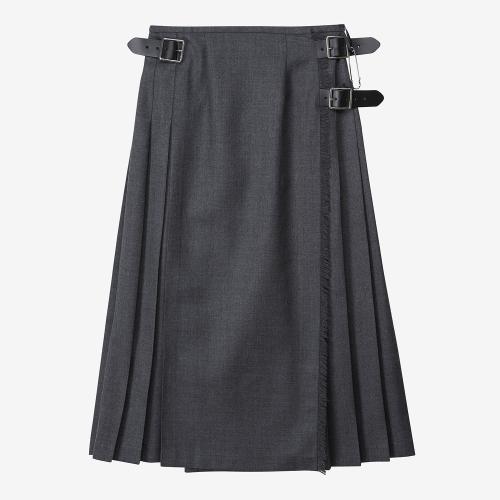 Fashion Long Kilt (GRY)